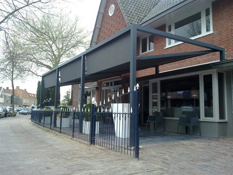 Veranda rolluiken front security for Offerte veranda