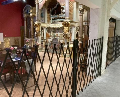Schaarhekken voor draaiorgelmuseum Helmond